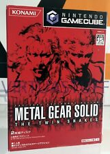 Metal Gear Solid, The Twin Snakes, Nintendo GameCube, WII, GC, GCN, JAPAN MARKET