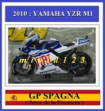 1/18 - ROSSI - YAMAHA YZR M1 2010 Jerez - Die-cast