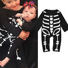 Newborn Baby Boys Girl Halloween Romper Playsuit Bodysuit Clothes Outfit Costume