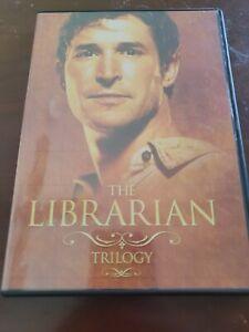 The Librarian Trilogy - DVD - 3-Disc Set, Noah Wyle, Bob Newhart, Free Postage