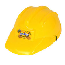 Childrens Bob The Builder Hard Hat Yellow Fancy Dress Costume Prop
