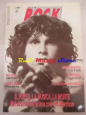 rivista ROCK MAGAZINE 3/1990 Jim Morrison Bruce Springsteen Neil Young  No cd
