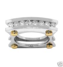 Diamond Ring 14k Gold 0.75ct Right Hand Square Design