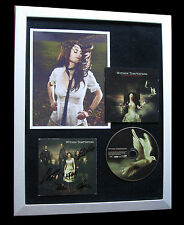 WITHIN TEMPTATION+SIGNED+FRAMED+HEART EVERYTHING=100% GENUINE+FAST GLOBAL SHIP!!