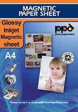 PPD A4 Inkjet Magnetic Paper Sheet Gloss X 20 *Mega Value*