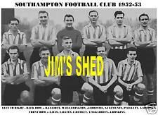 SOUTHAMPTON F.C.TEAM PRINT 1952-53 (DAY/SILLETT/DUDLEY)