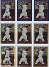 Lot of (133) Shin-Soo Choo 2012 Bowman Chrome COLOR Cards - Texas Rangers OF