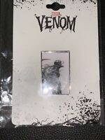 Venom Art Enamel Pin New on Card Spider-man Marvel Comics