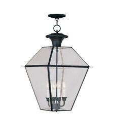 Livex Lighting Westover Outdoor Chain Hang in Black - 2387-04