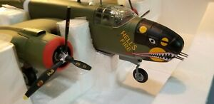 "ARMOUR #98169 USAAF B-25D ""HELLS FIRE"" 1:48 SCALE DIECAST METAL MODEL"