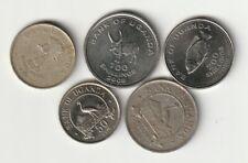 UGANDA Lote de monedas