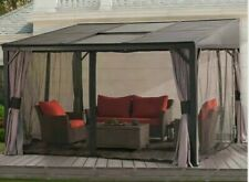 Replacement Mosquito Netting For Sunjoy L-GZ1191PCO Bayside Sun Shelter Gazebo