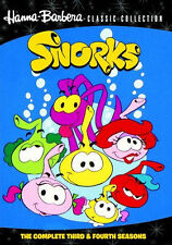 SNORKS: THE COMPLETE THIRD AND FOURTH SEASONS - DVD - Region Free - Sealed