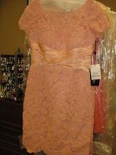 Sherri Hill 21204 Blush Pink Stunning Cocktail Dress sz 2