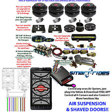 Compare AccuAir & SmartRide AirBag Suspension System Controller coil Smart Phone