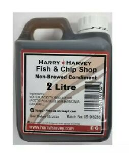 2L Fish and Chip Shop taste non brewed condiment Vinegar Bulk Refill Pack Chippy