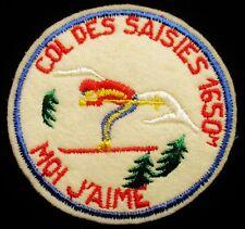 ECUSSON  COL DES SAISIES 1650 M MOI J'AIME