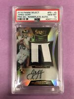 2016 Panini Select Jared Goff RC RPA Nameplate Patch Auto /49 PSA 10 GEM MT POP1