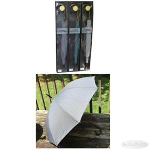 "50"" Auto Open Classic Italian Wood Stick Umbrella NIB Choose Pattern"
