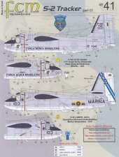 FCM Decals 1/48 GRUMMAN S-2 TRACKER Latin America #1