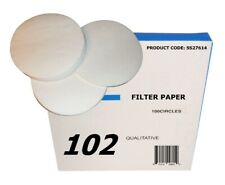 Sci-Supply Qualitative Filter Paper, Pkg / 100 Select Size & Speed Below