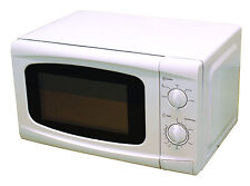 Lesuirewize White Camping Motorhome 700W 20L Low Wattage Cooking Microwave Oven