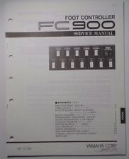 Original Yamaha FC900  Foot Controller SERVICE Manual