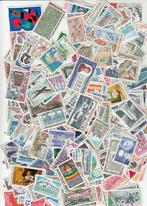 FRANCE - HUGE LOT OF MINT NH - MOSTLY COMMEMORATIVE ISSUES = 300 + STAMPS