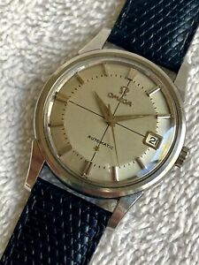 VINTAGE OMEGA CONSTELLATION PIEPAN STAINLEES STEEL Calendar Automatic Swiss Made