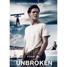 Unbroken DVD 2014 Movie by Jack OConnell Domhnall Gleeson Region 2