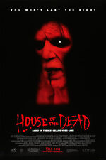 HOUSE OF THE DEAD (2003) ORIGINAL MOVIE POSTER  -  ROLLED  -  DOUBLE-SIDED
