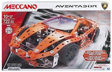 MECCANO LAMBORGHINI AVENTADOR 722 pezzi SPINMASTER cod. 16307 6032898 -nuovo- IT