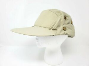 Tilley TWFC FISHING CAP WITH CAPE - Khaki/Olive, M (7 1/8 - 7 1/4) MSRP $80
