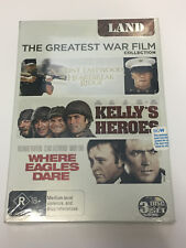 The Greatest War Film Collection - Clint Eastwood (3 DVD Set - Region 4) NEW