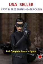 "CUSTOM MADE 1/6 Scale Catwoman FULL 12"" hot figure toys Anne hathaway"