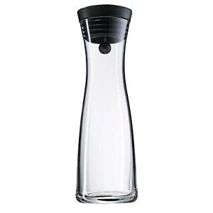 WMF Wasserkaraffe 1l Glaskaraffe Karaffe Basic Kippdeckel CloseUp-Verschluss