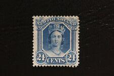 Newfoundland 1865 Queen Victoria (24¢)