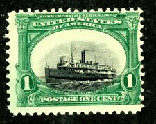 EFO 294 Dramatic SINKING SHIP variety -- Black Vignette Shifted Down NH BEAUTY