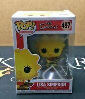 Lisa Simpson - 497 The Simpsons (Funko POP!) Vinyl Figure