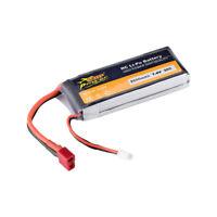 ZOP Power 7,4 V 2200 mAh 35C 2 S Lipo Batterie T Stecker Für RC Racing Drone