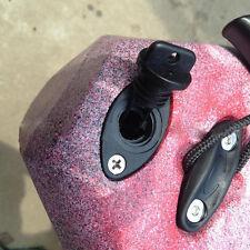2pcs Plastic Universal Hull Drain Plug &Screw Replacements for Kayak Canoes Boat