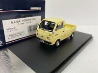 1/43 HI STORY HS269YE 1969 MAZDA PORTER CAB PICK UP MINI TRUCK YELLOW model car