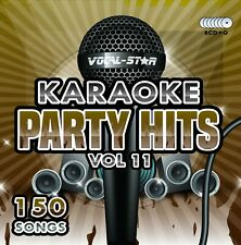 VOCAL-STAR PARTY HITS 11 KARAOKE CDG CD+G DISC SET 150 SONGS - **NEW FOR 2020**