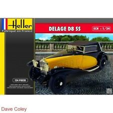 Heller 80720 1:24th scale Classis French car The stunning Delage D8 SS