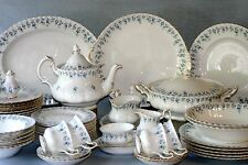 "ROYAL ALBERT ""MEMORY LANE"" Tè Set e vasellame-INGLESE BONE CHINA"
