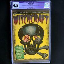 Witchcraft #2 (Avon 1952) 💥 CGC 4.5 Restored 💥 Pre-Code Horror Skull Comic