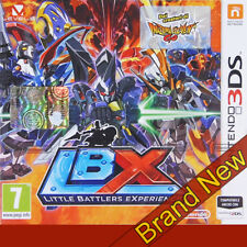 LBX: little battlers experience-NINTENDO 3 DS ~ 7+ RGP. ~ BRAND NEW & SEALED!