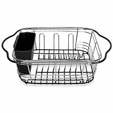 - Dish Racks Farm Sink Expanding Drying Over The Sink, Countertop Or In Drainer