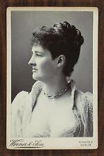 Hermione Wilhelmina Fitzgerald Duchess of Leinster Photo Cabinet  card Dublin