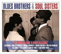 BLUES BROTHERS & SOUL SISTERS Patti&The Bluebelles Booker T. & The Mcs 2 CD NEW!